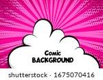 Comic Book Cartoon Speech...