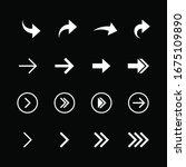 arrow icon collection. arrow...   Shutterstock .eps vector #1675109890