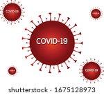 corona virus covid 19... | Shutterstock .eps vector #1675128973