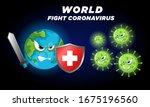 coronavirus   corona virus... | Shutterstock .eps vector #1675196560