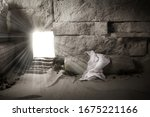 Empty Tomb While Light Shines...