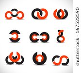 business icons set   isolated... | Shutterstock .eps vector #167523590