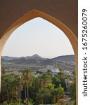 View Through A Window Of Bahla...