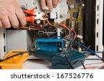 electrician | Shutterstock . vector #167526776