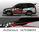 vehicle graphic kit vector....   Shutterstock .eps vector #1675288093