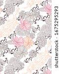 cute pattern of small flowers....   Shutterstock .eps vector #1675295293