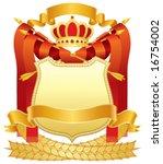 coat of arms   Shutterstock .eps vector #16754002