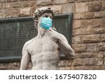 The Statue Of David In The...