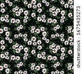 elegant floral pattern in small ... | Shutterstock .eps vector #1675435273