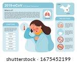 coronavirus 2019 ncov flu... | Shutterstock .eps vector #1675452199