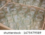 Empty Clean Glass Jars For...