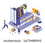 online shopping landing page...
