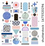 creative geometric background... | Shutterstock .eps vector #1675520296