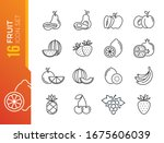 fruits  exotic fruits ... | Shutterstock .eps vector #1675606039