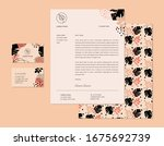 business identity template set... | Shutterstock .eps vector #1675692739