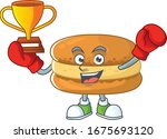 Happy Face Of Boxing Winner...