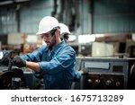 Men Industrial Engineer Wearing ...
