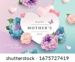 Mother's Day Greeting Card With ...