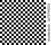 Black White Chess Background....