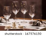 restaurant - stock photo