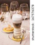 Latte Coffee - stock photo