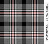 black  red and white modern...   Shutterstock .eps vector #1675763863