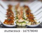 tasty appetizer - stock photo
