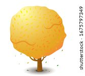 vector tree in autumn season....