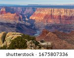 Grand Canyon At Sunset  From...