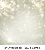 abstract christmas golden... | Shutterstock . vector #167583956