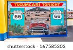 tucumcari  nm usa   may 9 ... | Shutterstock . vector #167585303