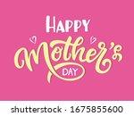 happy mother day. vector... | Shutterstock .eps vector #1675855600