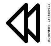 multimedia line icon previous...