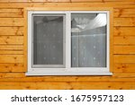 A Double Glazed Window In A...