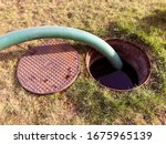 Pumping Septic Tank Into The...