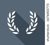 laurel wreath  champion olive....   Shutterstock .eps vector #1676003773