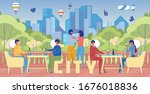 city lifestyle recreation word... | Shutterstock .eps vector #1676018836