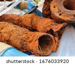 Corrosion On Steel Pipe Surfac...