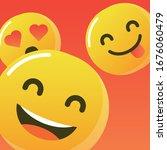 smile logo. icon ui design.