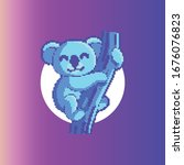 pixel coloring app ui design...