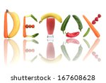 detox    Shutterstock . vector #167608628