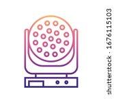 laser lamp nolan icon. simple...