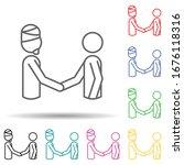 world in religions multi color...