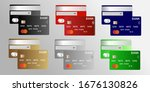 realistic detailed set of... | Shutterstock .eps vector #1676130826