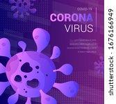 coronavirus abstract text...   Shutterstock .eps vector #1676166949