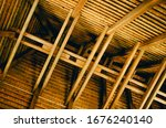 Wooden Roof Sctructure With...