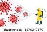 covid 19 corona virus 2020.... | Shutterstock .eps vector #1676247670