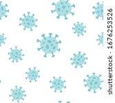 symbol of coronavirus covid 19...   Shutterstock .eps vector #1676253526