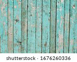Old Wooden Blue Used Background