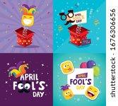 Set Poster Of April Fool Day...